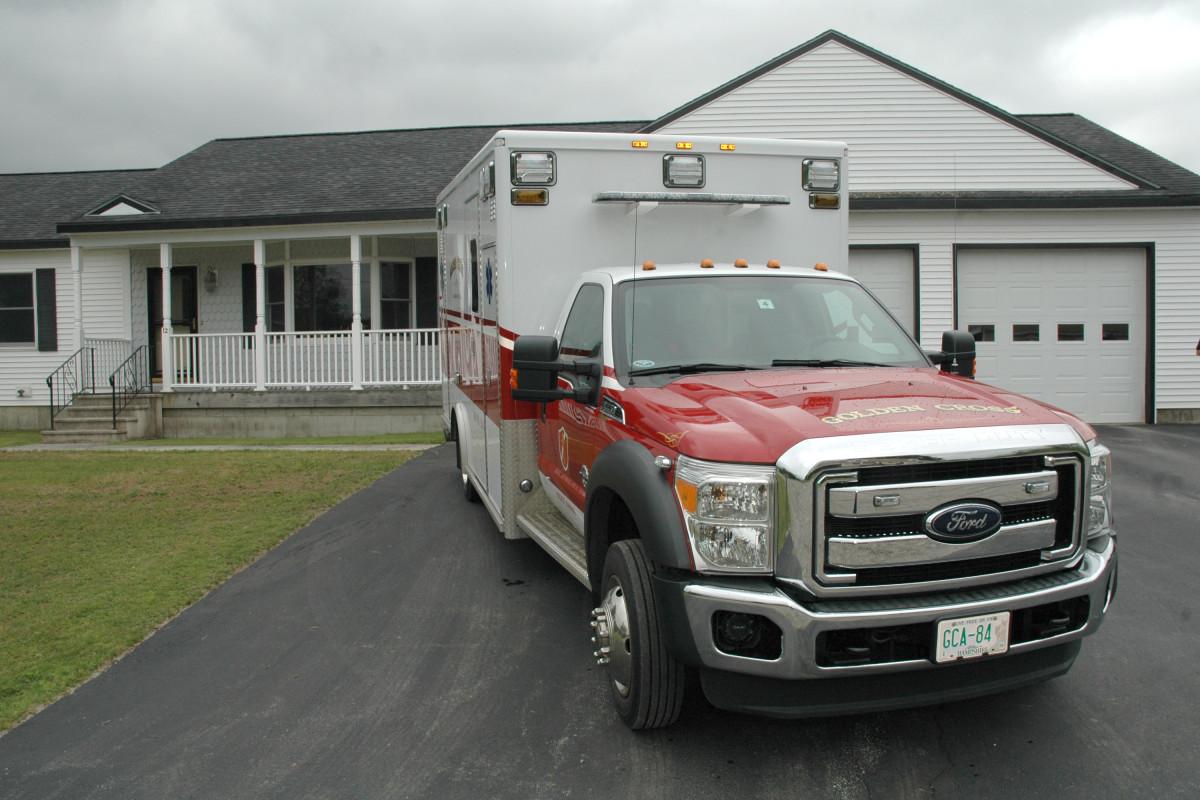 GCA Ambulance 3/4 view