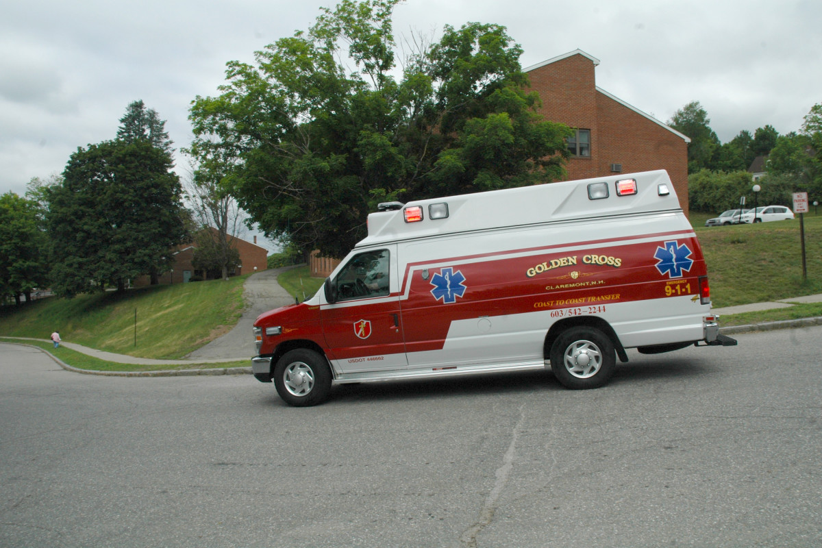 GCA Ambulance Side View