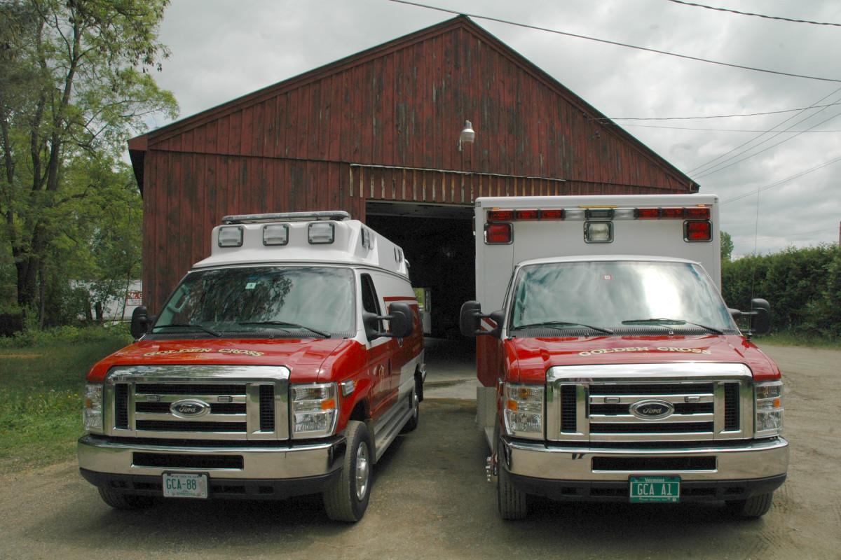 GCA Ambulances - Head on